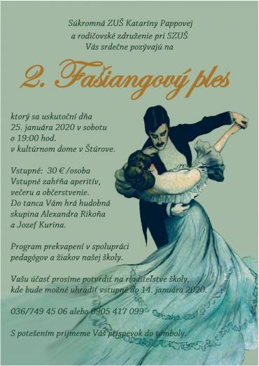 2. Fašiangový ples
