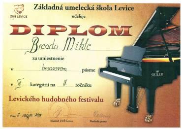 Levický hudobný festival 2018