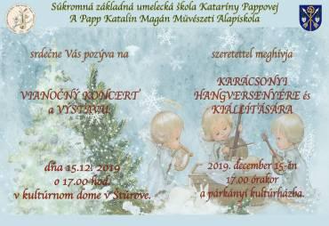 Vianočný koncert a výstava 2019